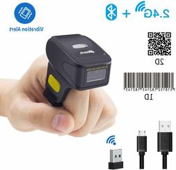 Alacrity Portable 1D and 2D Bluetooth Barcode Scanner,Handhe