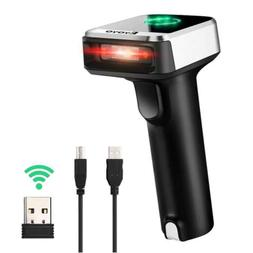 Eyoyo Portable 2 IN 1 Wired/Wireless Barcode Scanner for And
