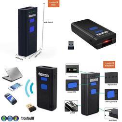 portable bluetooth barcode scanner 1d mini wireless