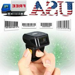 Portable Wearable Ring 1D Wireless Bluetooth Barcode Scanner