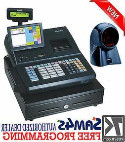 "SAM4S SPS-530 RT 7"" Touch Screen Cash Register with Orbital"