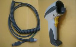 Symbol Motorola DS6707 1D 2D Barcode Reader POS Scanner + US