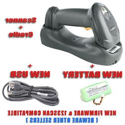 Motorola Symbol DS6878 & Cradle Wireless 2D Barcode Scanner