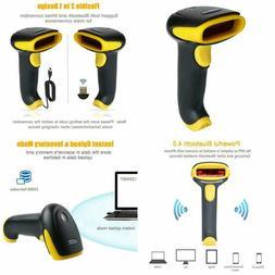 TaoHorse 2-in-1 USB Bluetooth Barcode Scanner Wireless  Wire