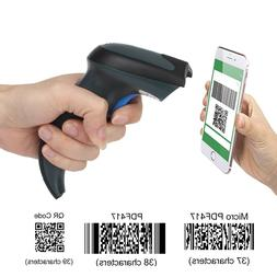 Portable Handheld Wireless 2D 1D Barcode Scanner  +USB CABLE