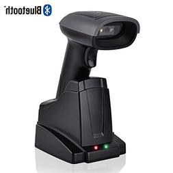 USB 2.0 Wired + Wireles Bluetooth 4.0 Chargable Barcode Scan