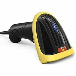 USB Bar Code Scanners Barcode Scanner, Handheld Wired 1D Las