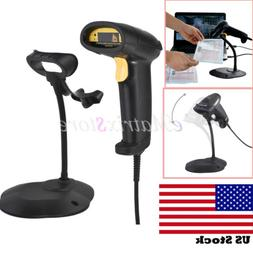 USB Barcode Handheld Laser Bar Code Scanner POS Reader Scan
