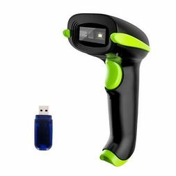NADAMOO USB Barcode Scanner 1D 2D QR Bar Code Scanner for Mo