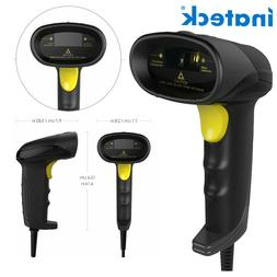 Inateck USB Barcode Scanner Wired Handheld 1D Barcode Scanne