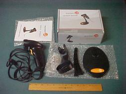 TaoTronics USB Barcode Scanner Wired Handheld Laser Bar Code