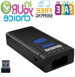 USB Bluetooth Barcode Scanner,Symcode 1D Mini Wireless Handh