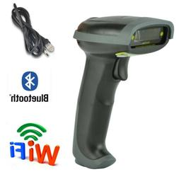 USB Bluetooth Wireless Barcode Scanner Automatic Laser Bar C