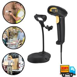 USB Handheld Long Scan Automatic POS Laser Barcode Scanner w