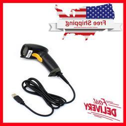 WoneNice USB Laser Barcode Scanner Wired Handheld Bar Code S