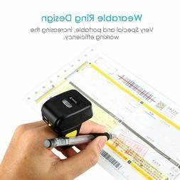 Eyoyo Wearable 1D Wireless Ring Barcode Scanner Mini Finger