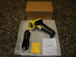 HooToo Wired 1D Barcode Scanner HT-BSO14 Yellow & FREE SHIPP