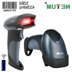 NETUM Wired CCD 1D 2D QR Barcode Scanner Handheld M2 Wireles