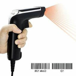 Alacrity Wired Laser Barcode Scanner USB Cable Handheld Bar