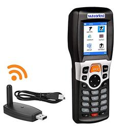 TroheStar Wireless Barcode Scanner and Collector Portable Da