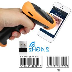 Wireless 1D Bluetooth Barcode Scanner USB Connector for iPho
