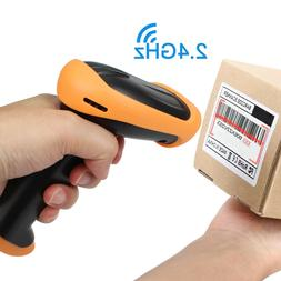 Wireless 2.4G USB Handheld Wifi laser Barcode POS Scan Bar C