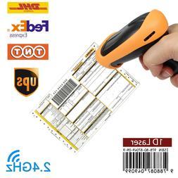 Wireless 2.4GHz Laser Barcode Bar Code Handheld Scanner USBR