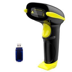 NADAMOO Wireless Barcode Scanner, Compatible with Bluetooth