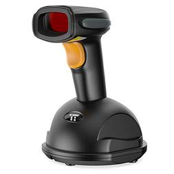 TaoTronics 433Mhz Wireless Barcode Scanner, Cordless Handhel