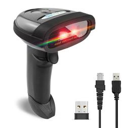 NETUM Wireless Barcode Scanner Handheld 1D Cordless CCD Barc