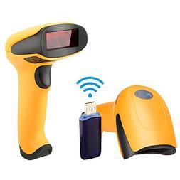 NETUM Wireless Barcode Scanner, Laser Portable Barcode Reade