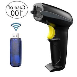 Case Of 100,NADAMOO 433Mhz Wireless Barcode Scanner 328 Fe