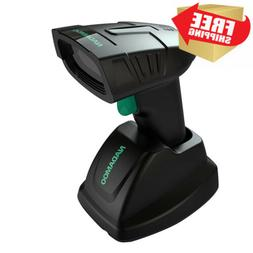NADAMOO Wireless Barcode Scanner with Charging Base Station