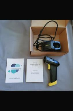 NADAMOO Wireless Barcode Scanner with Charging Cradle, Read
