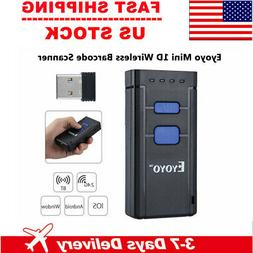 Eyoyo  Wireless Bluetooth Barcode Laser Scanner Reader Porta