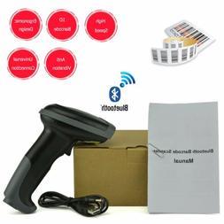 Wireless Bluetooth Handheld Laser Scan Barcode Scanner Reade