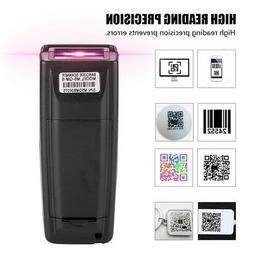 Wireless Cordless Bluetooth 4.0 2D QR Code Barcode Scanner R
