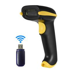 Wireless Wired BT Barcode Scanner 2D 1D Bar Code USB Recharg